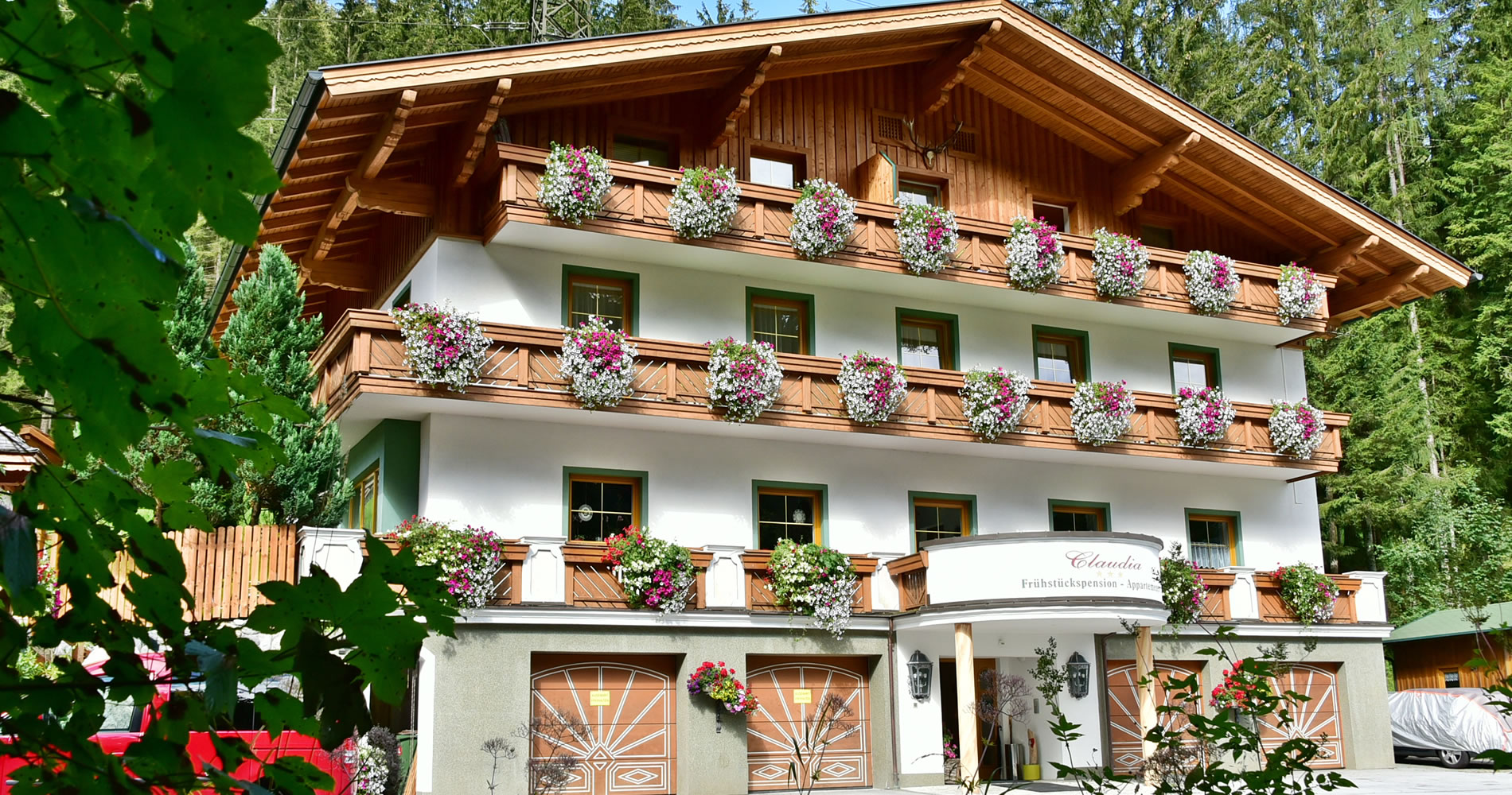 Pension Claudia, Sommerurlaub in Flachau