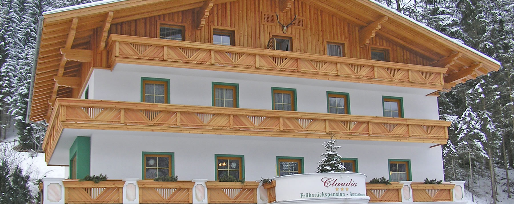 Pension Claudia, Skiurlaub in Ski amadé